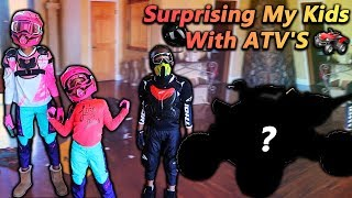 Surprising My Kids With ATV