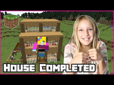 The House is Complete / Minecraft