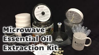 Microwave Essential Oil Extraction
