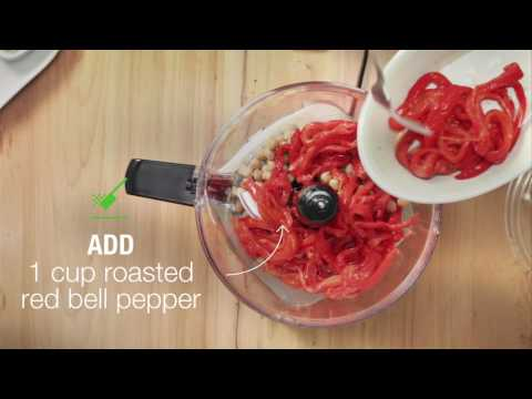Making Mayo's Recipes: Roasted Red Pepper Hummus