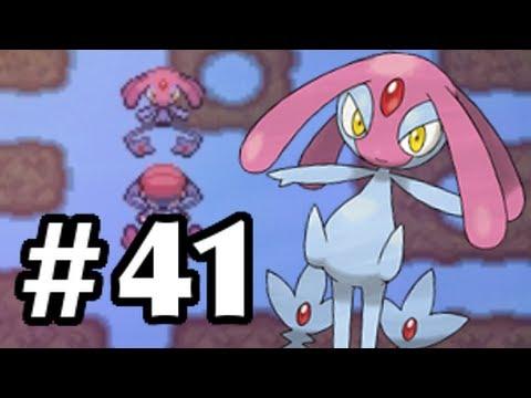 Let's Play Pokemon: Platinum - Part 41 - Mesprit