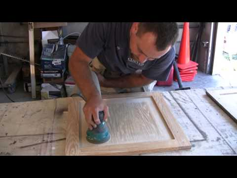 Cabinet refinishing (Frame and Panel Doors)