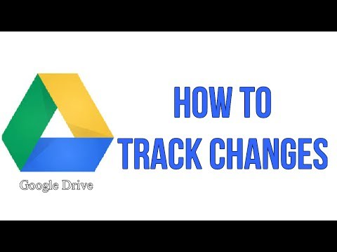 How To Track Changes In Your Google Drive Document
