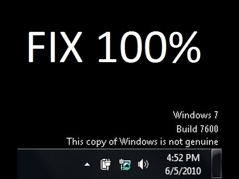 How To Fix Windows 7 Not Genuine Problem {WORKS 100%} [NO SOFTWARE ]
