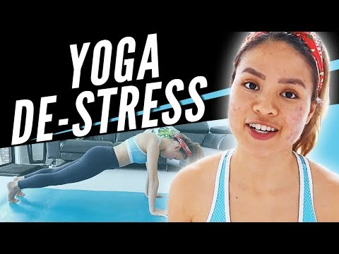 Yoga for Stress Relief - Easy 5 Minute Practice