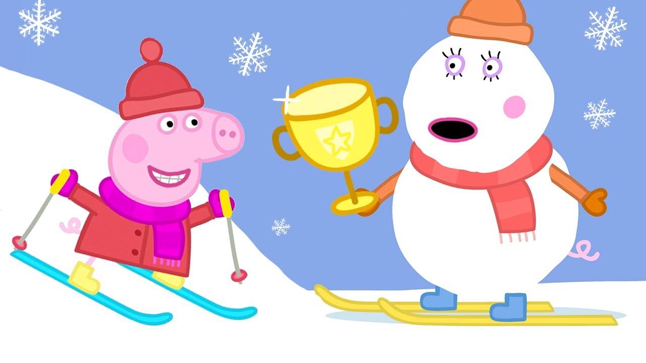 Peppa und ihre Freunde lernen Skifahren ❄️ Cartoons für Kinder | Peppa Wutz Neue Folgen