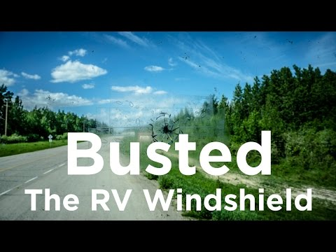 03 Alaska Bound: Busted the RV Windshield