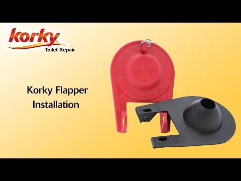 Korky Premium Flapper Installation