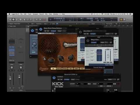 Logic Pro X Trance Kick Channel Setup