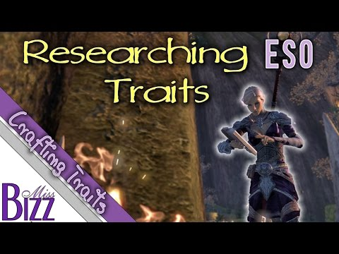 ESO Researching Guide - Elder Scrolls Online Trait Research, How to Research Traits
