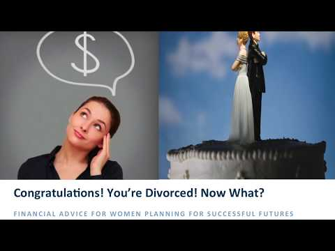 Post Divorce Financial Planning For Women