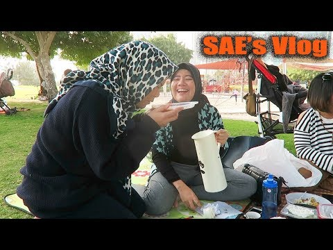 SAE's Vlog - Piknik Dengan Ibu-Ibu RW di Qatar