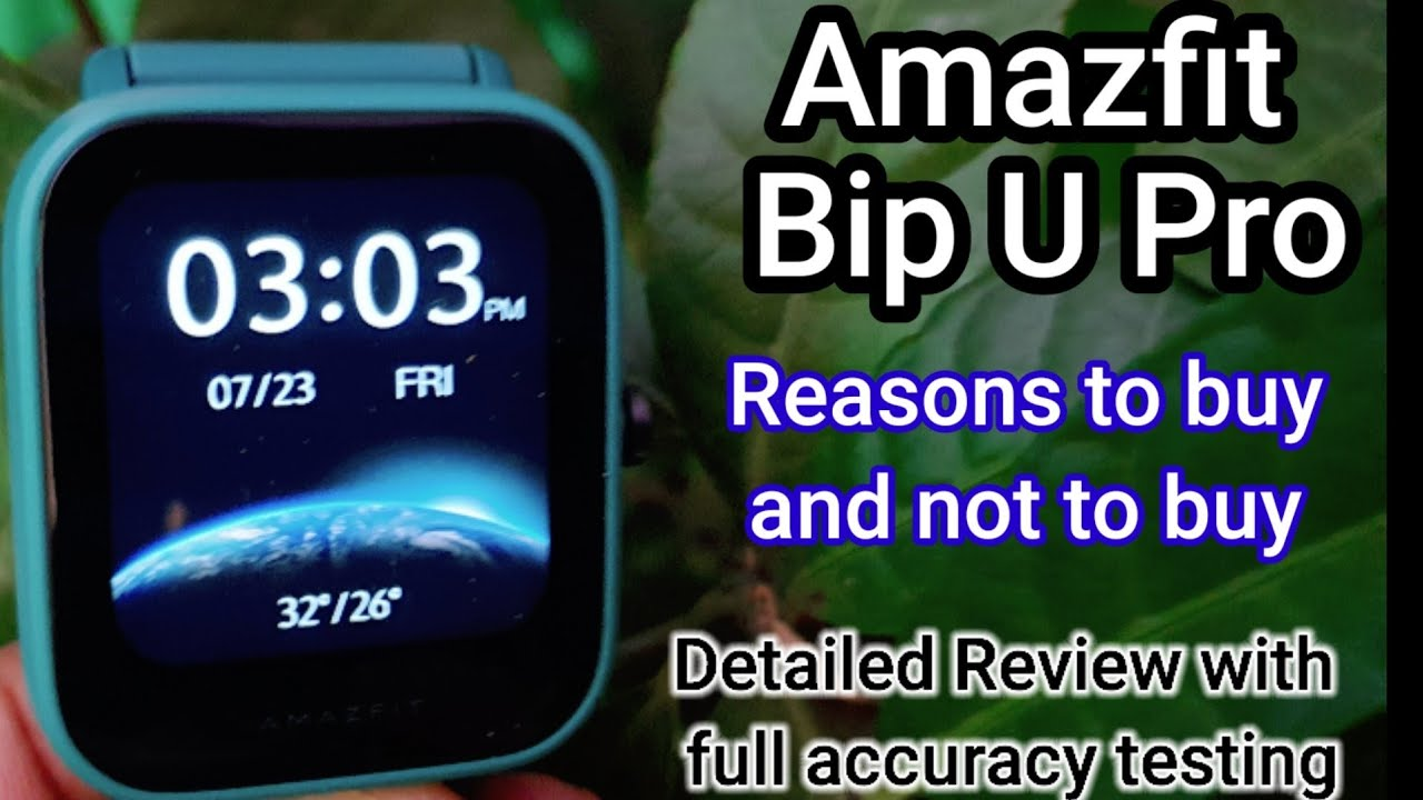Download Amazfit Bip U Pro. Detailed Review and testing of all features. Full Watch Guide. MP3 Gratis