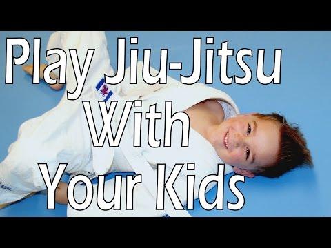 How to play jiu-jitsu with your kids Part 1: Guard recovery development