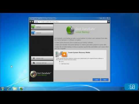 How to Make Dell Windows 7 System Recovery Media