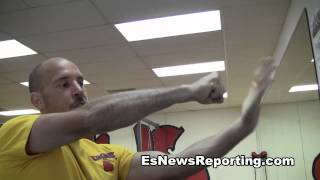In this http://www.esnewsreporting.com video we take a look at the story behind the story.  EsNews is a sports channel  talking to stars, celebs, trainers, fans and reporters.   Follow us on Twitter http://www.twitter.com/seckbach.  Facebook - http://www.facebook.com/EsNewsReporting.  We also produce the Robert Garcia Reality Show here
