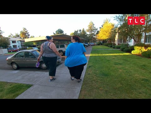 This Overweight Woman Walks Around For The First Time In 9 Years