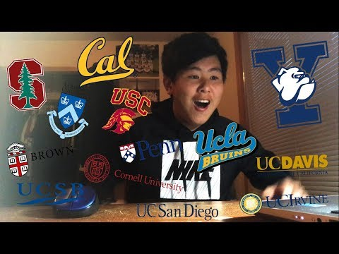 I GOT INTO MY TOP CHOICE IVY?! // College Decision Reactions 2018 (Yale, Stanford, UCB, and more!)