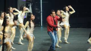 Salman Khan Live In Dabangg Tour Melbourne 2017