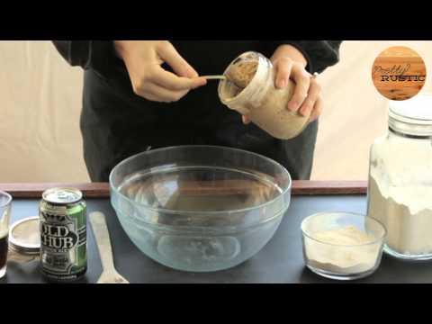 North Carolina Sourdough Beer Bread