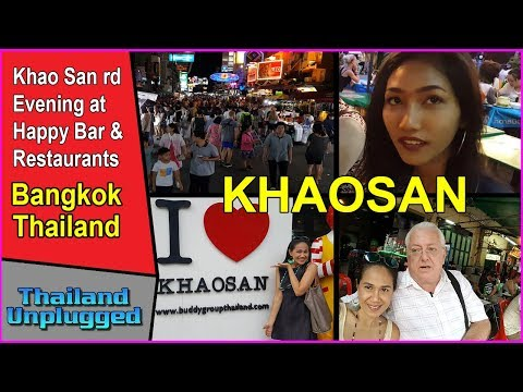 BANGKOK KHAOSAN ROAD THAILAND PT 1 full HD