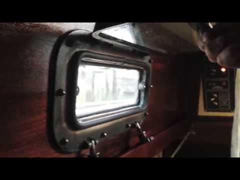 S/V SeaSprite Portlight Gaskets and Interior Teak (Sea Sprite 30)