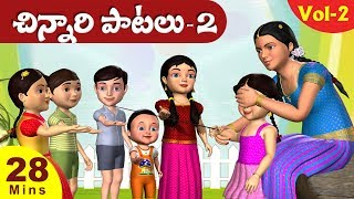 Top Telugu Rhymes For Children Vol. 2 - 3D Veeri Veeri Gummadi Pandu and 21 Telugu Rhymes