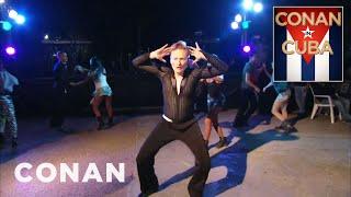 Conan Learns To Dance Cuban Rumba  - CONAN on TBS