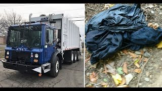 These Garbagemen Began Crushing Trash In Their Truck  Then They Heard Desperate Cries From Inside