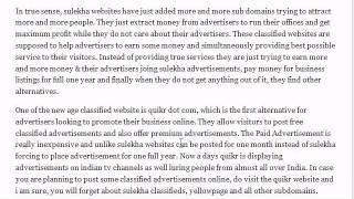 Sulekha.com for Advertisers
