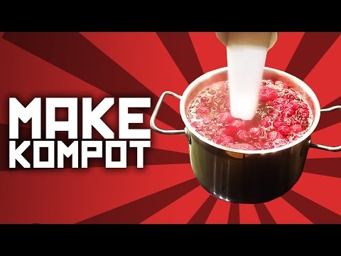 How to make kompot - Slav recipe with Boris
