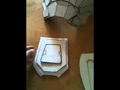 Cardboard Carter Armor