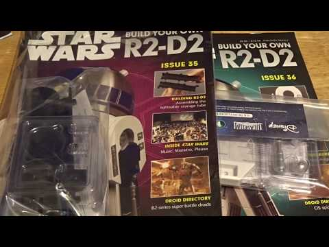DeAgostini Build Your Own R2D2 Issues 35 and 36