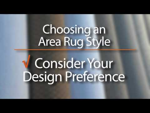Carpet Mill Outlet - Choosing the Right Area Rug for your Project