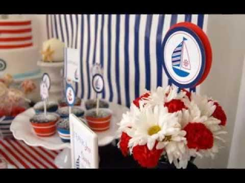 Easy Nautical party decor ideas