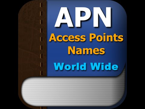 APN setting  for straight talk  AT&T sim card