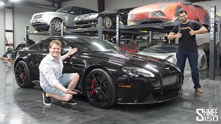 I Delivered Tavarish's New Aston Martin V12 Vantage S!