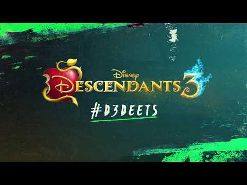 #D3 Deets: Uma, Harry, & Gil | Descendants 3