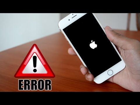 FIX : IPHONE NOT TURNING ON/STUCK IN BOOT LOOP/FORGOT PASSCODE  - iOS 10 and below ALL IPHONE ERRORS