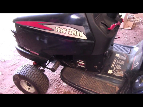 How to Change Oil on a Craftsman Lawn Tractor