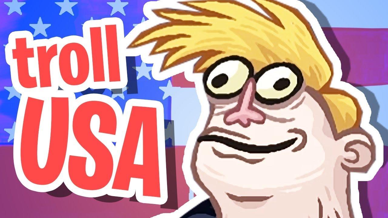 Trollface Quest USA!