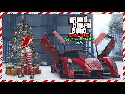 GTA Online NEW Festive Surprise 2017 DLC Content - Super Car Released, FREE New Years Gifts  & MORE!
