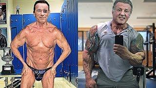 Arnold Schwarzenegger Vs Sylvester Stallone Transformation ★ 2018