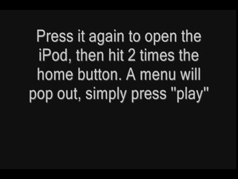 iPod Touch: Play Music Video while in Sleep Mode Trick