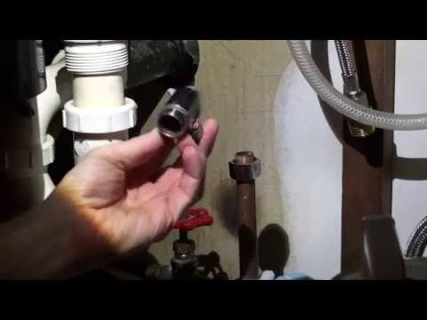 How To Remove A Shutoff Valve From A Copper Pipe