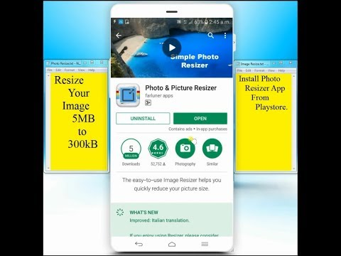 How to Resize an Image and Reduce Image Size on Android Phone || Reduce Pictures Size on Smartphones