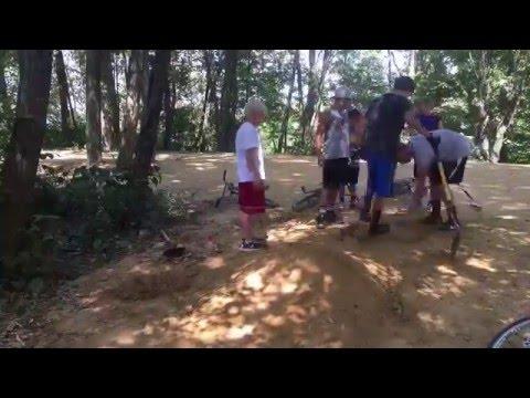 Building Dirt Jumps (time-lapse) BMX