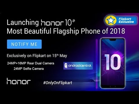 The Honor 10 is now official Price & Specs: Phone Kirin CPU, most beautiful flagship phone of 2018