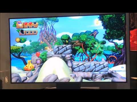 Funky Kong in Donkey Kong Country: Tropical Freeze Gameplay (Nintendo Switch)