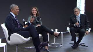 A Conversation with Barack Obama, Bill Gates and Melinda Gates #GOALKEEPERS17